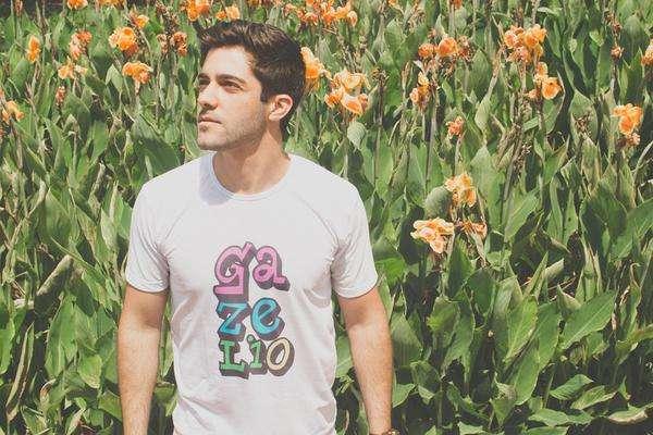 męska koszulka z nadrukiem - sklep internetowy