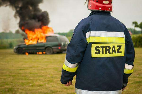 mundury strażackie